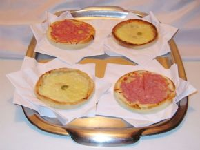 Mini Pizzas Buffet